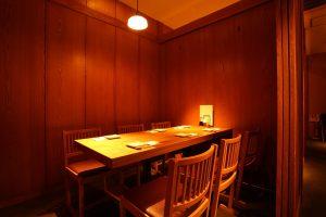 テーブル個室の画像